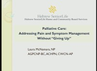 Palliative Care: Addressing Pain and Symptom Management without
