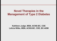 Novel Therapies in Diabetes Management